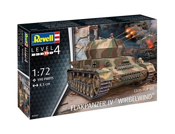 Revell 1/72 Scale - Flakpanzer IV Wirbelwind