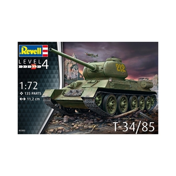 Revell 1/72 Scale - T-34/85