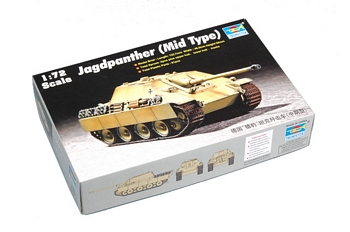 Trumpeter 1/72 Scale - Jagdpanther (Mid Type)