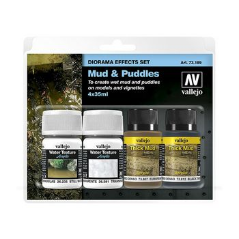 Diorama Effects Mud & Puddles Set