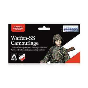 Model Color Waffen SS Camouflage Set