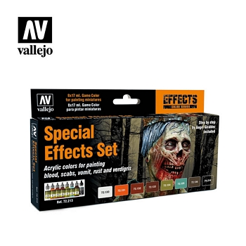 Game Color Special Effects Set