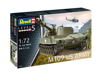 Revell 1/72 Scale - M109 US Army