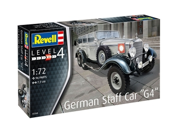 "Revell 1/72 Scale - German Staff Car ""G4"""