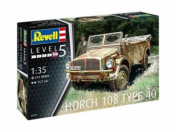 Revell 1/35 Scale - Horch 108 Type 40