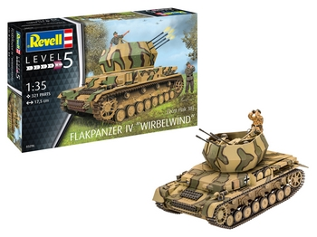Revell 1/35 Scale - Flakpanzer IV Wirbelwind