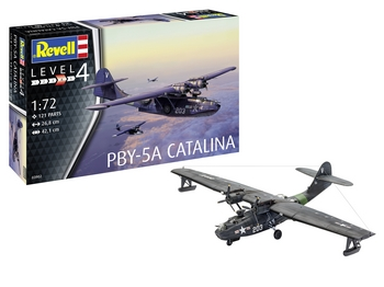 Revell 1/72 Scale - PBY-5A Catalina