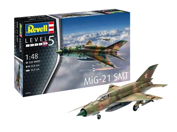 Revell 1/48 Scale - MiG-21 SMT