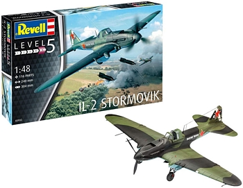 Revell 1/48 Scale - IL-2 Stormovik