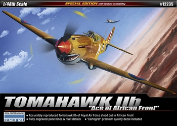 "Academy 1/48 Scale - Tomahawk IIb ""Ace of the African Front"""