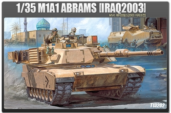 "Academy 1/35 Scale - M1A1 Abrams ""Iraq 2003"""