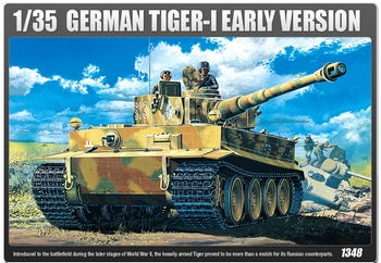 Academy 1/35 Scale - German Heavy Tank Tiger I Early Production