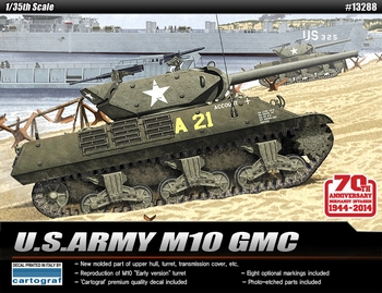 Academy 1/35 Scale - US Army M10 GMC
