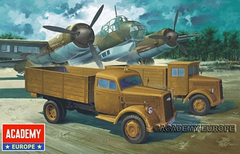 Academy 1/72 Scale - German Cargo Truck (Early or Late)