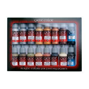 Game Color Leather & Metal Paint Set