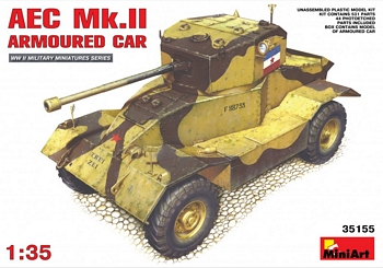 MiniArt 1/35 Scale - AEC Mk.II Armoured Car