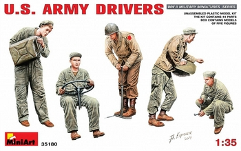 MiniArt 1/35 Scale - US Army Drivers