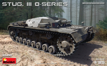MiniArt 1/35 Scale - STUG. III O-Series