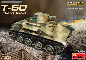 MiniArt 1/35 Scale - T-60 Plant No 264