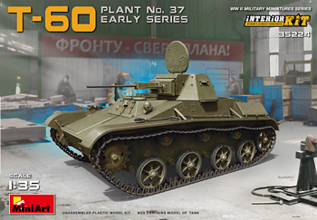 MiniArt 1/35 Scale - T-60 Plant No 37 Early Series