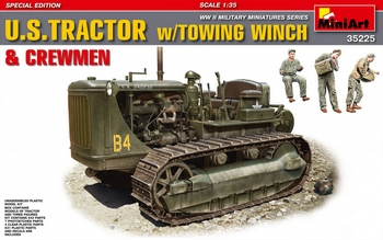 MiniArt 1/35 Scale - US Tractor with Towing Winch & Crew