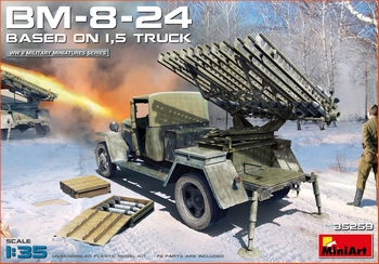 MiniArt 1/35 Scale - BM-8-24 Based On 1.5T Truck