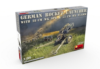 MiniArt 1/35 Scale - German Rocket Launcher