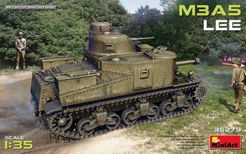 Miniart 1/35 Scale - M3A5 Lee