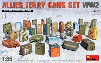 MiniArt 1/35 Scale - Allies Jerry Cans Set
