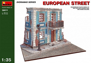 MiniArt 1/35 Scale - European Street