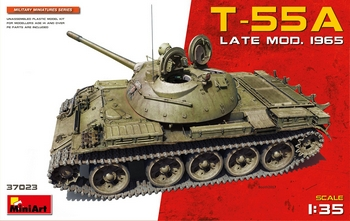 Miniart 1/35 Scale - T-55A Late Model 1965