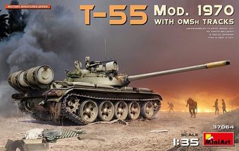 Miniart 1/35 Scale - T-55 Mod. 1970 with OMSh Tracks