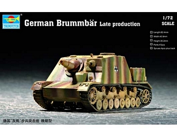 Trumpeter 1/72 Scale - German Brummbär Late Production