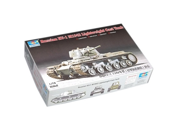 Trumpeter 1/72 Scale - Russian KV-1 M1942 Lighweight Cast Tank
