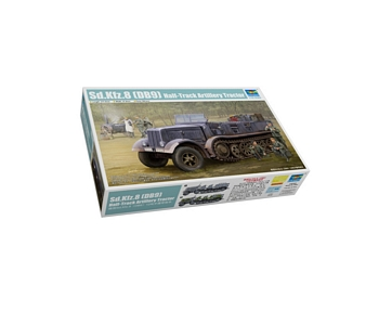 Trumpeter 1/35 Scale - Sd.Kfz.8 (DB9) Half Track Artillery Tract