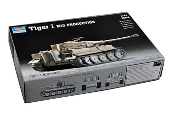 Trumpeter 1/72 Scale - Tiger I Mid Production