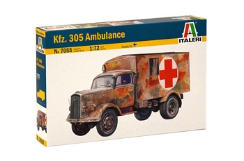Italeri 1/72 Scale - Kfz. 305 Ambulance