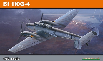 Eduard 1/72 Scale - Bf110G=4 Edition