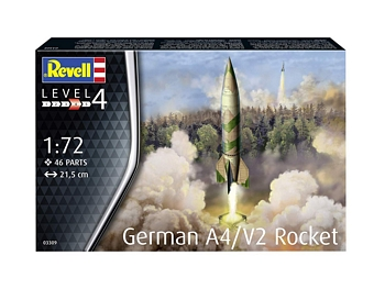 Revell 1/72 Scale - German A4/V2 Rocket