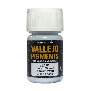 Vallejo Pigment 73101 Titanium White 30ml