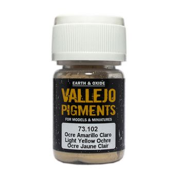 Vallejo Pigment 73102 Light Yellow Ochre 30ml