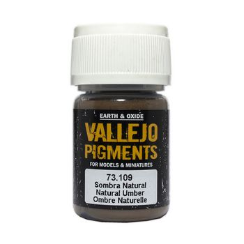 Vallejo Pigment 73109 Natural Umber 30ml