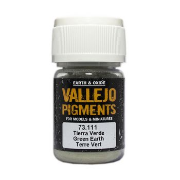 Vallejo Pigment 73111 Green Earth 30ml
