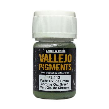 Vallejo Pigment 73112 Chrome Oxide Green 30ml