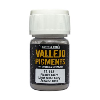 Vallejo Pigment 73113 Light Slate Grey 30ml