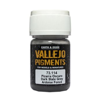 Vallejo Pigment 73114 Dark Slate Grey 30ml