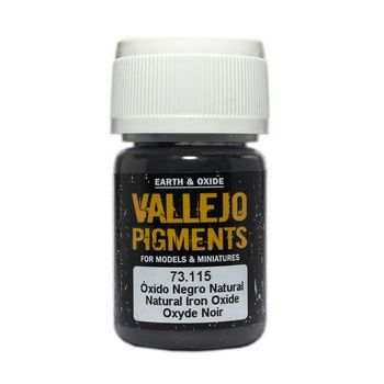 Vallejo Pigment 73115 Natural Iron Oxide 30ml