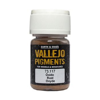Vallejo Pigment 73117 Rust 30ml
