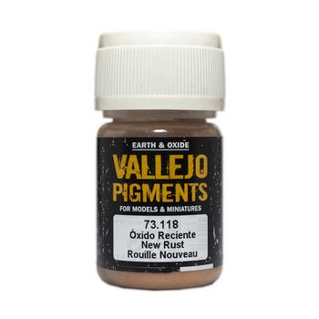 Vallejo Pigment 73118 New Rust 30ml