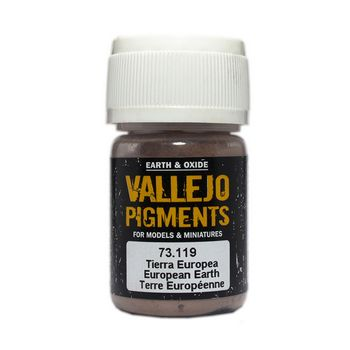 Vallejo Pigment 73119 European Earth 30ml